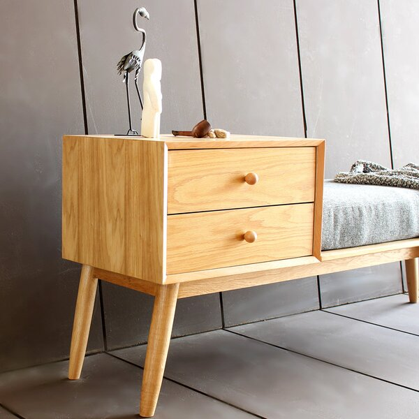 corrigan studio sitzbank jasper aus holz mit stauraum bewertungen. Black Bedroom Furniture Sets. Home Design Ideas