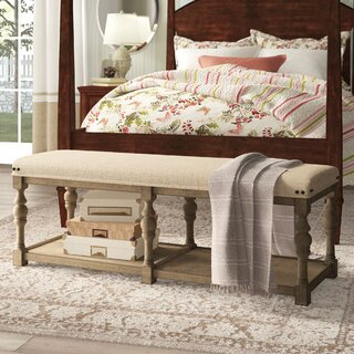 "Onida Northport 54"" Upholstered Bench by Birch Lane๏ฟฝ Heritage SKU:BE314693 Purchase"