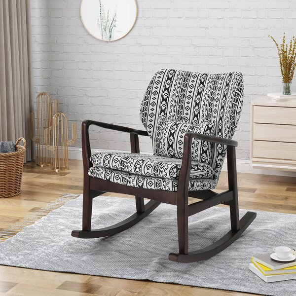 Winchell Rocking Chair by World Menagerie