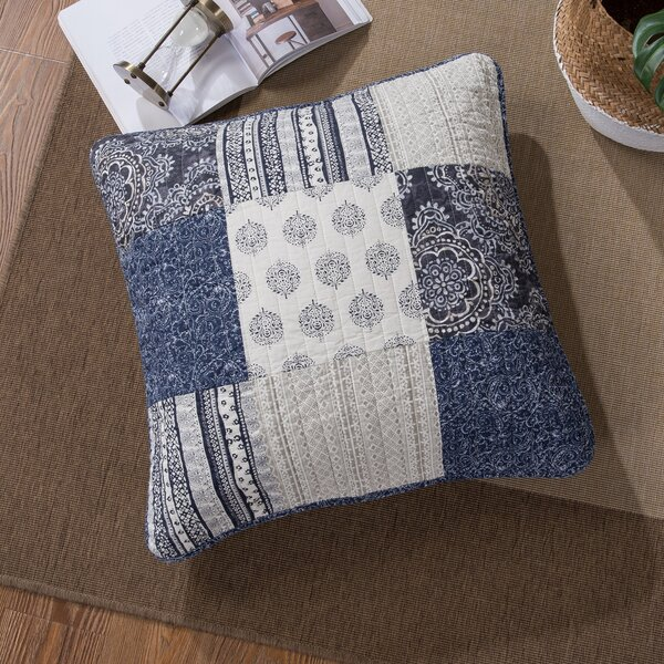 Galey Patchwork Euro by Bloomsbury Market