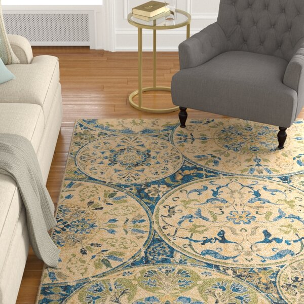 Moille Area Rug by Darby Home Co