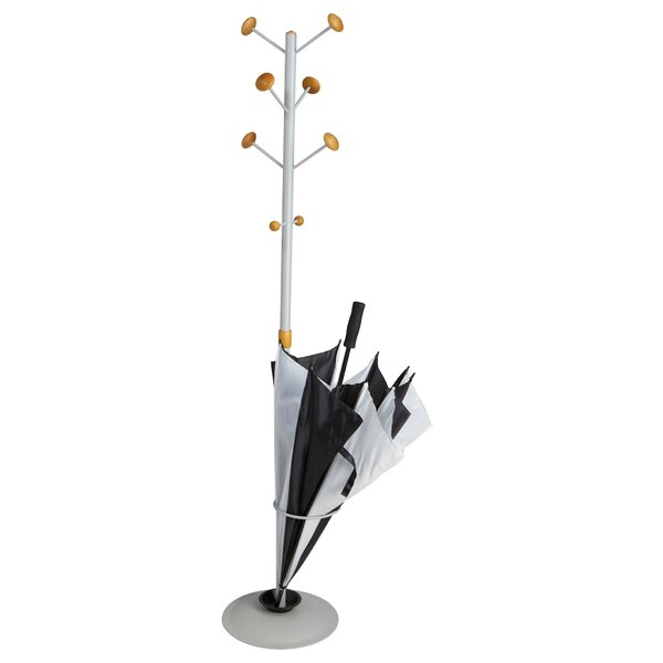 Free Standing 8 Hook Coat Rack by Mind Reader