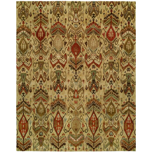 Hand-Tufted Beige Area Rug by Wildon Home ®
