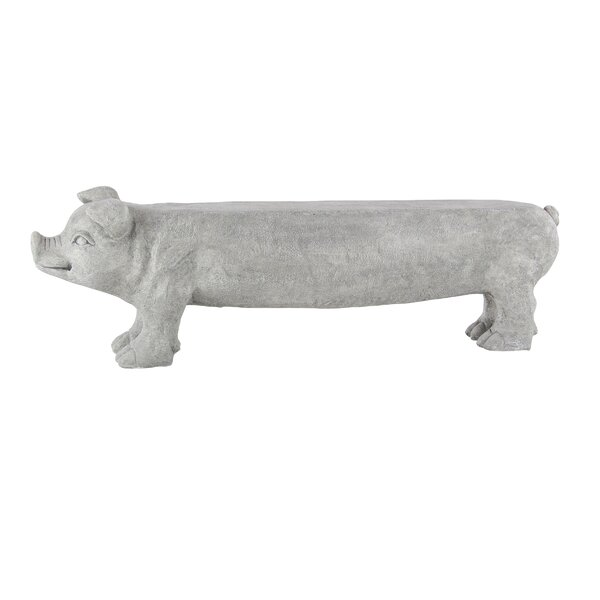 Stockard Eclectic Pig Bench by August Grove