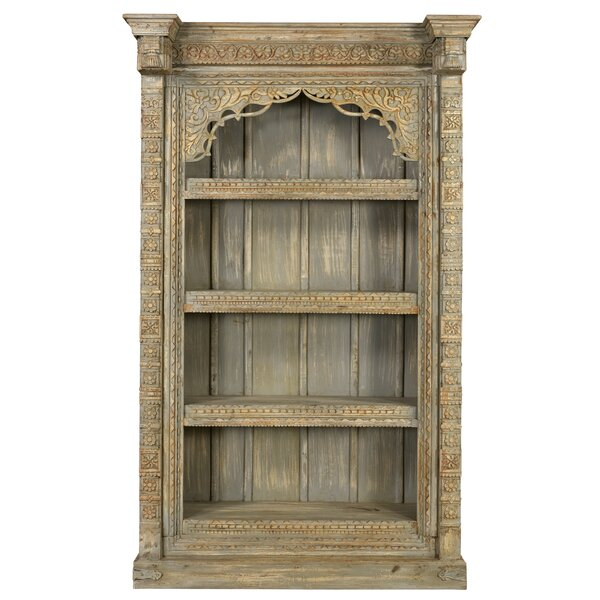Aidan Carved Standard Bookcase by One Allium Way