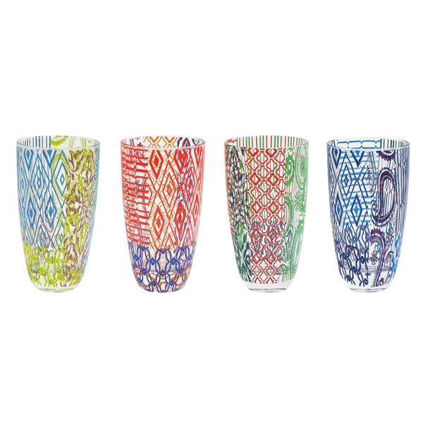 4 Piece Highball Glass Set by Tracy Porter