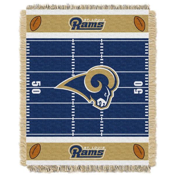 NFL Rams Field Baby Blanket by Northwest Co.