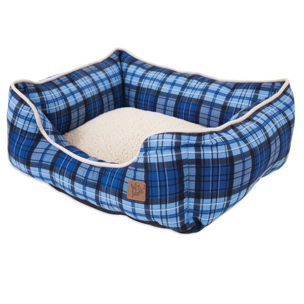 Lambert Plaid Lounger Bolster by MuttNation Fueled By Miranda Lambert