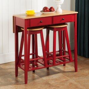 3 Piece Pub Table Set by InRoom Designs
