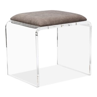 Read Reviews Mira Acrylic Vanity Stool By Interlude