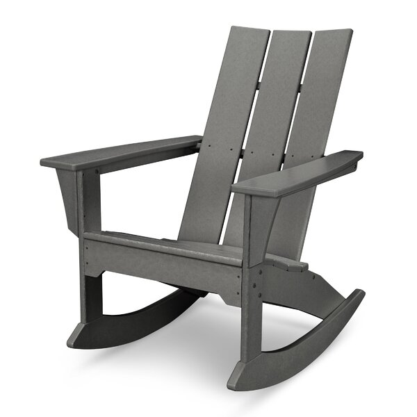 Modern Plastic Rocking Adirondack Chair by POLYWOOD®