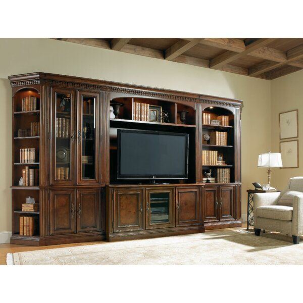 European Renaissance II Door Standard Bookcase by Hooker Furniture