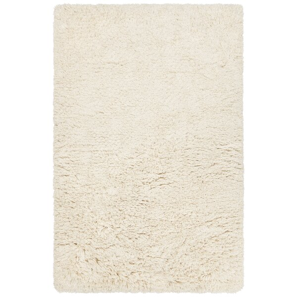 Terrel Hand-Woven Cream Area Rug by 17 Stories