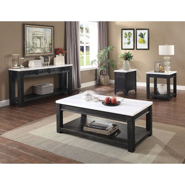 Dyllan 4 Piece Coffee Table Set by Red Barrel Studio Red Barrel Studio