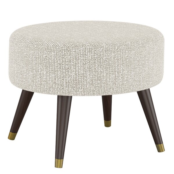 Beckles Oval Ottoman by George Oliver