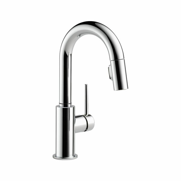 Trinsic Pull Down Bar Faucet with MagnaTite® Dock