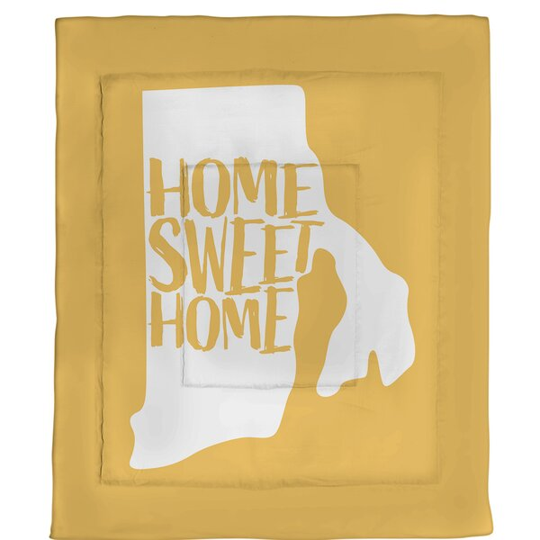 Rhode Home Sweet Single Reversible Comforter
