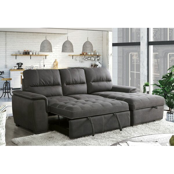 Said Sleeper Sectional by Canora Grey