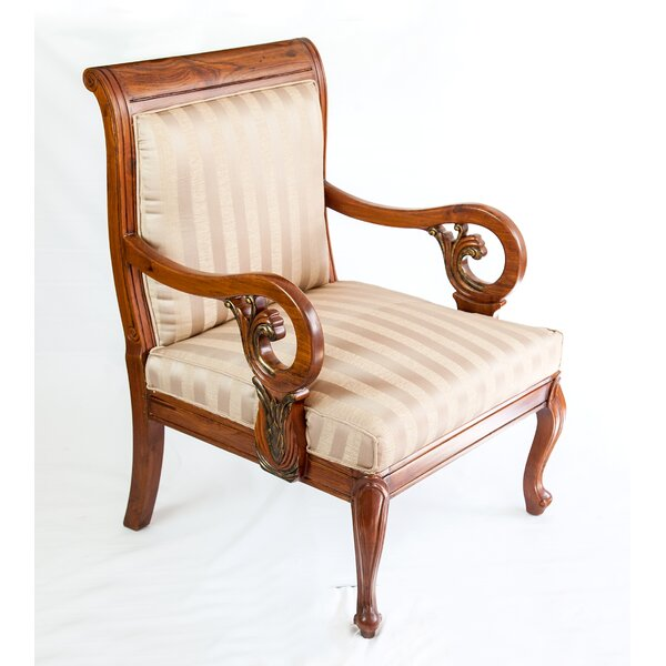 Vintage Style Lounge Chair by The Silver Teak