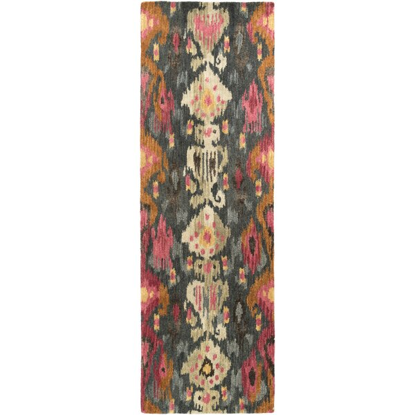 Bower Forest Ikat/Suzani Area Rug by Bungalow Rose