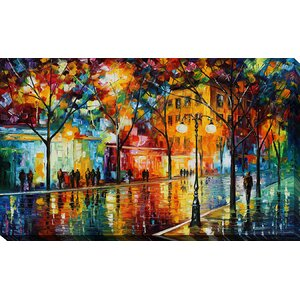 The Tears of the Fall by Leonid Afremov Painting Print on Wrapped Canvas by Picture Perfect International