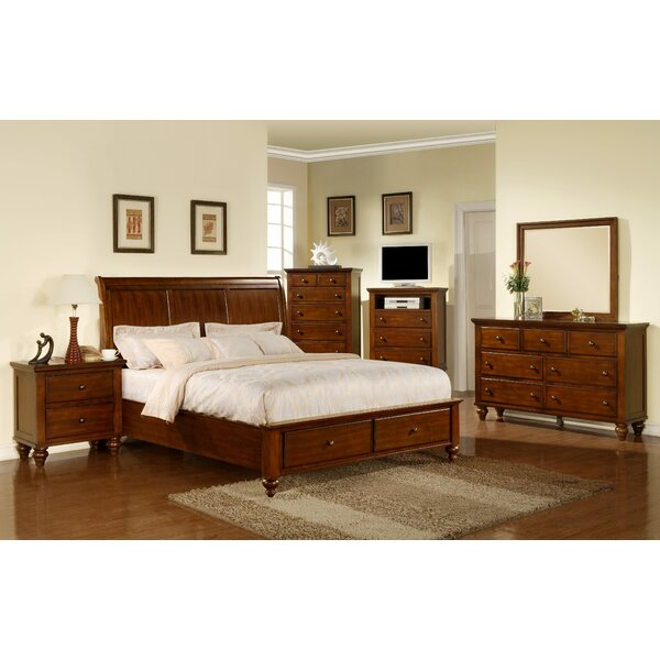 Verrett Storage Platform 4 Piece Bedroom Set by Darby Home Co