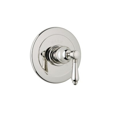 Pressure Balance Trim Without Diverter in Polished Chrome by Rohl