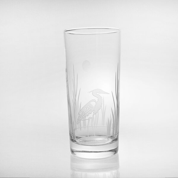 Heron 15 oz. Highball Glass (Set of 4) by Rolf Glass