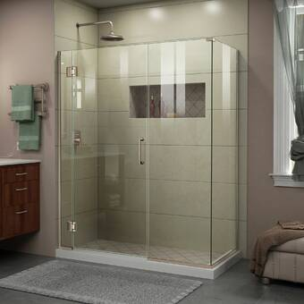 Aston Bromley Gs 58 X 72 Rectangle Hinged Shower Enclosure Wayfair