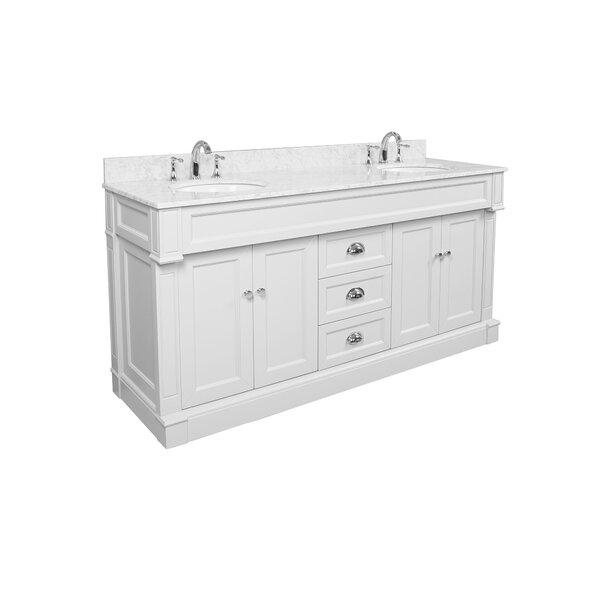 Karson 71 Double Bathroom Vanity Set