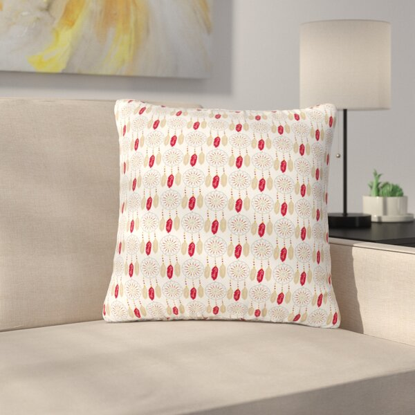 Petit Griffin Dreams in Color Outdoor Throw Pillow by East Urban Home
