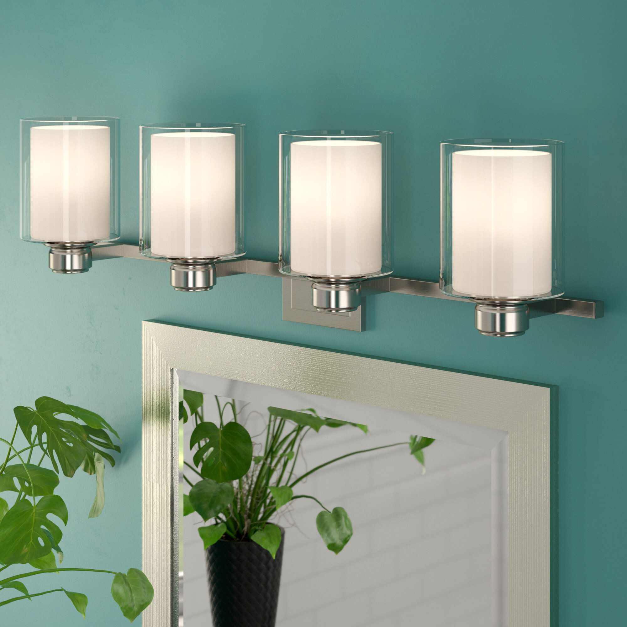 Zipcode Design Craig 4-Light Vanity Light & Reviews | Wayfair