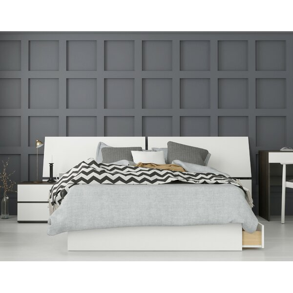 Laymon Platform 3 Piece Bedroom Set by Ebern Designs