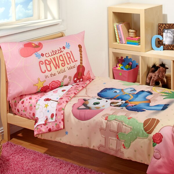 Sheriff Callie - Cutest Cowgirl 4 Piece Toddler Bedding Set by Crown Crafts