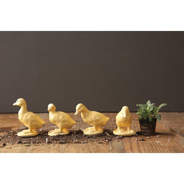 Kleinschmidt Duckling Figurines (Set of 4) by Ophelia & Co.