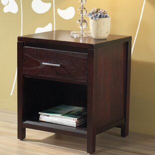 West Seattle 1 Drawer Nightstand by Red Barrel Studio