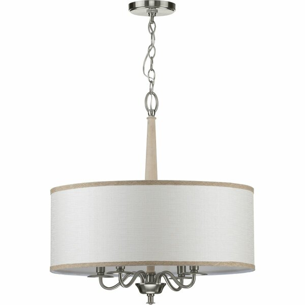 Rourke 4 - Light Shaded Drum Chandelier by Darby Home Co Darby Home Co