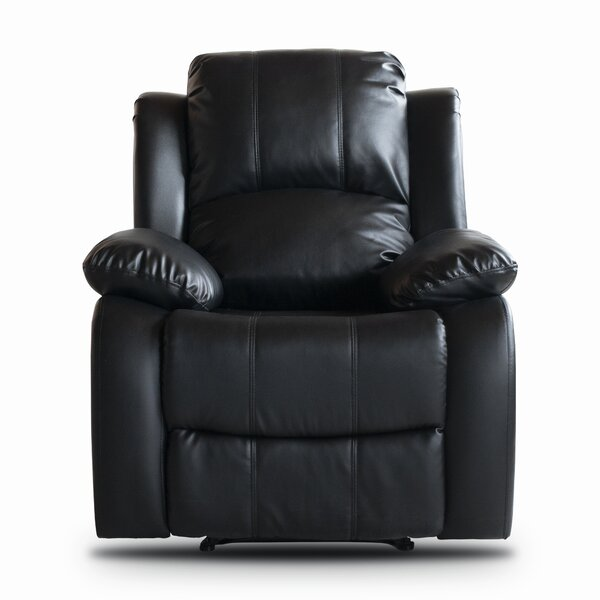 Classic Oversize and Overstuffed Manual Recliner b