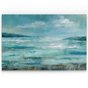 'Isle Inlet' Oil Painting Print on Wrapped Canvas by Breakwater Bay