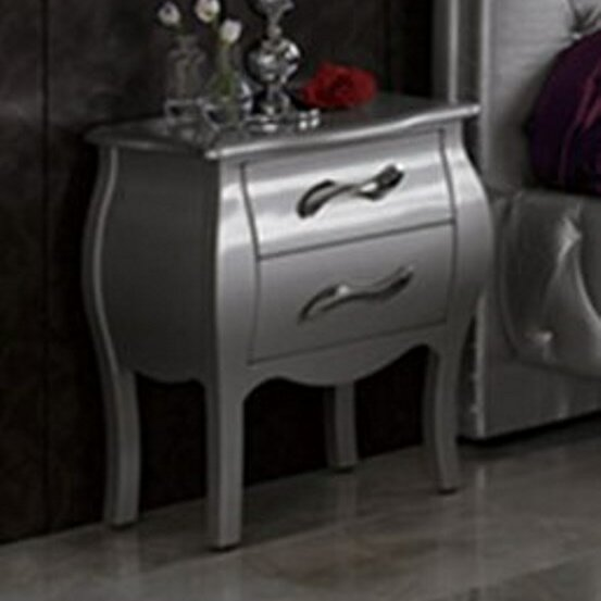 Amalia 2 Drawer Nightstand by Rosdorf Park