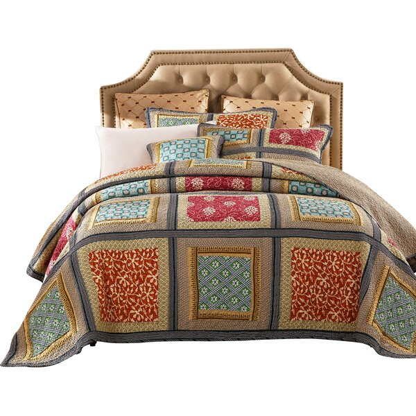 Gallery of Roses 3 Piece Reversible Quilt Set by DaDa Bedding