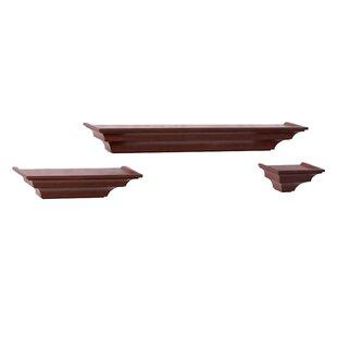 3 Piece Floating Shelf Set ByThree Posts