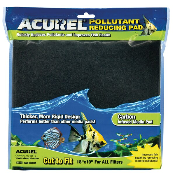 Carbon Infused Media Aquarium Pad by Acurel