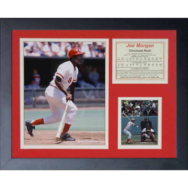 Joe Morgan Framed Memorabilia by Legends Never Die