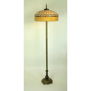 Tiffany style floor lamp wayfair tiffany 167cm floor lamp aloadofball Image collections