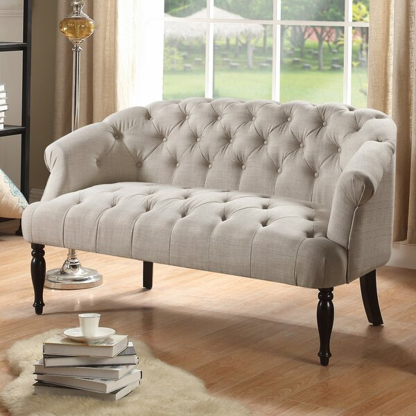 Garner Chesterfield Settee by Alcott Hill