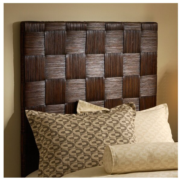 Guay Square Weave Panel Headboard by Bay Isle Home