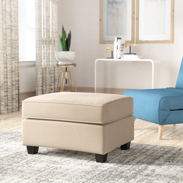 Abbot Cocktail Ottoman by Andover Mills