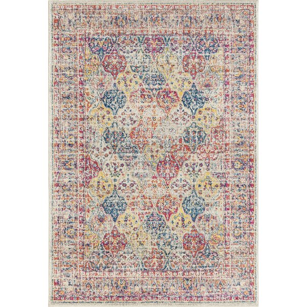 Dierking Yellow Area Rug by Bungalow Rose