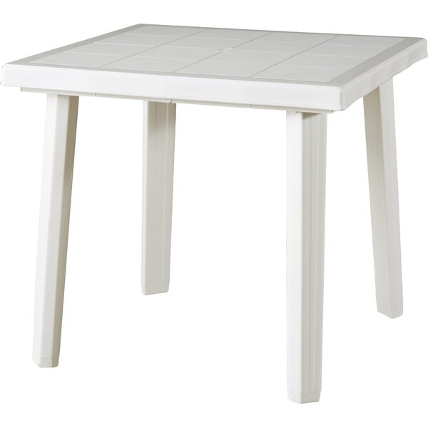 Rochell Plastic/Resin Dining Table by Red Barrel Studio